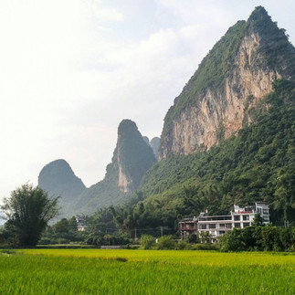 The karst mountains around Guilin and Yangshou make for spectacular sightseeing