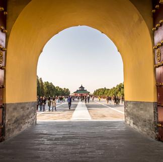 The Temple of Heaven in Bejing