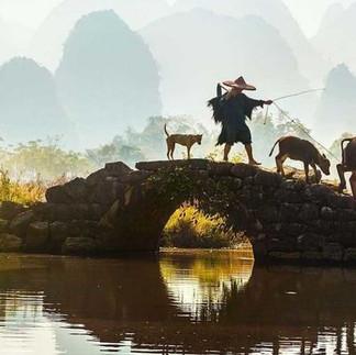 Yangshuo rural scene