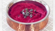 Hot Pink Beetroot Hummus