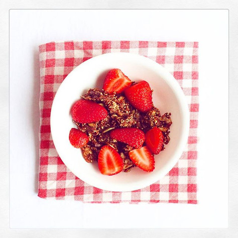 Cheeky Chocolatey Granola