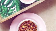 Crunchy Almond Quinoa Granola