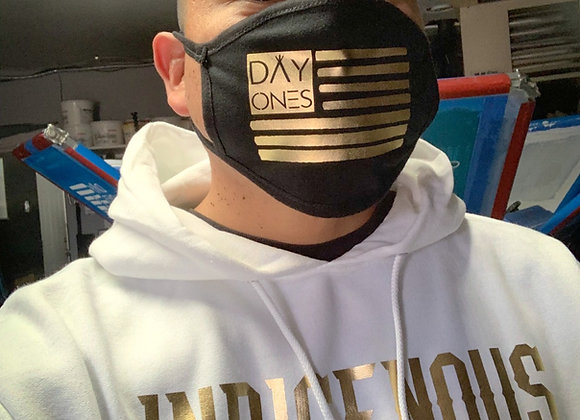 INDIGENOUS HOODIE ALL GOLD