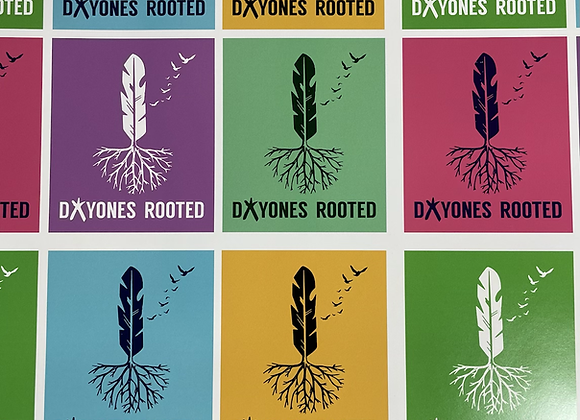 Dayones Rooted Feather Sticker