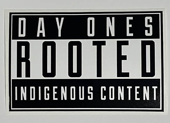 Rooted Content Sticker