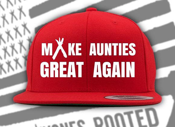 MAKE AUNTIES GREAT AGAIN -SNAPBACK