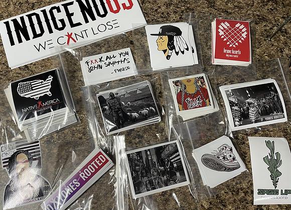 Sticker Pack - qty of 5