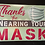 Thumbnail: Thanks for wearing your Mask - Signage Sticker