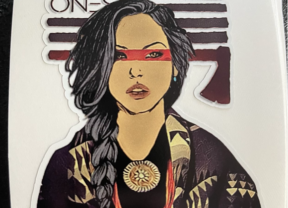 Strong Indigenous Resilient - Sticker