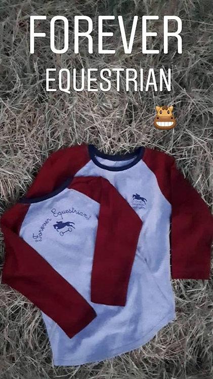 Camisa Raglan Equestrian Forever