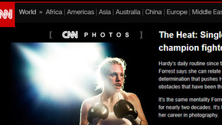 (CNN) The Heat: Single Mother, Champion Fighter
