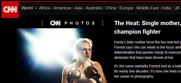(CNN) The Heat: Single Mother, Champion Fighter