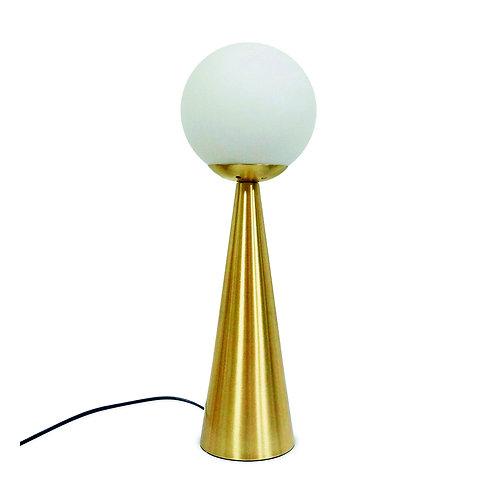 lampe à poser prélude laiton doré