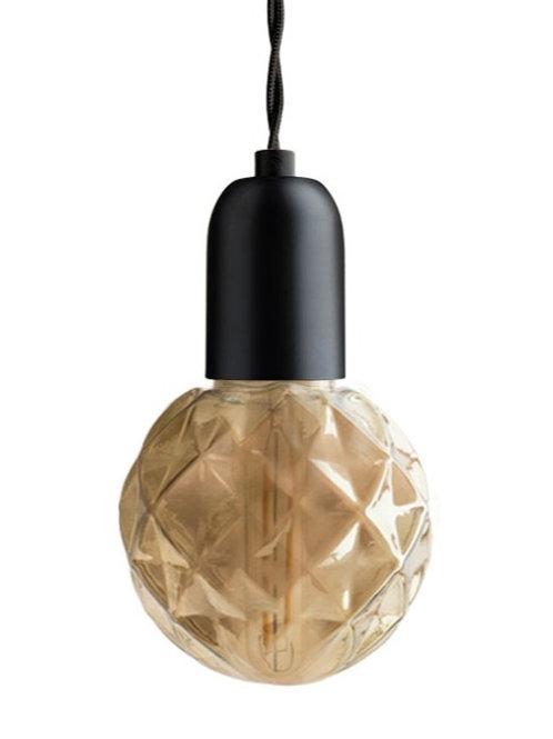 Ampoule composable Concave ambrée