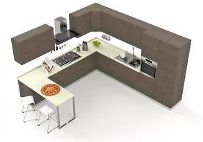 cuisine-moderne-equipee-d-electromenager