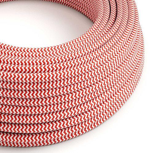 câble -electrique-zig-zag-rouge-et-blanc-les-petites-baladeuses