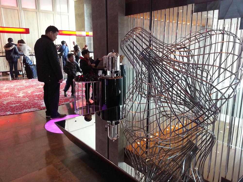 不鏽鋼+鏡面 裝置藝術底座