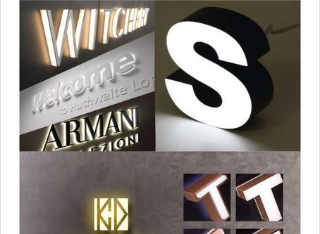 凱創廣告【招牌123+設計GO】室內LED發光立體字招牌KCDesign
