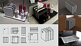 飯店壓克力備品盒設計