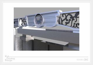 雕花招牌門面3D立體模型.jpg