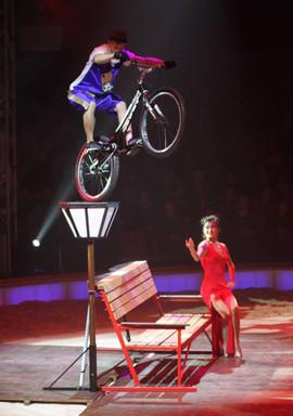 Bike Trial Circus Show