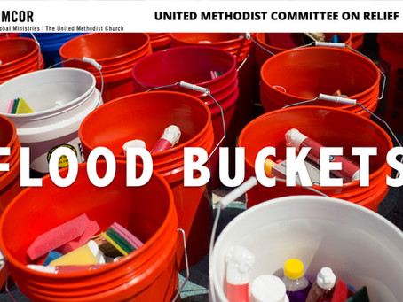 Flood Buckets for UMCOR
