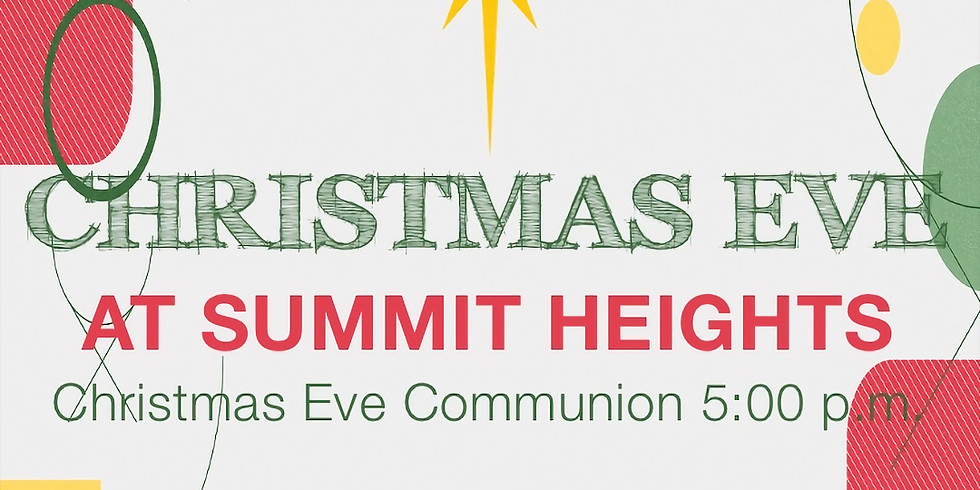 Christmas Eve Service - Online