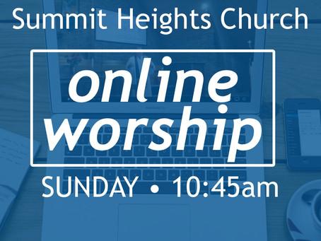 SHUMC Launches Online Church