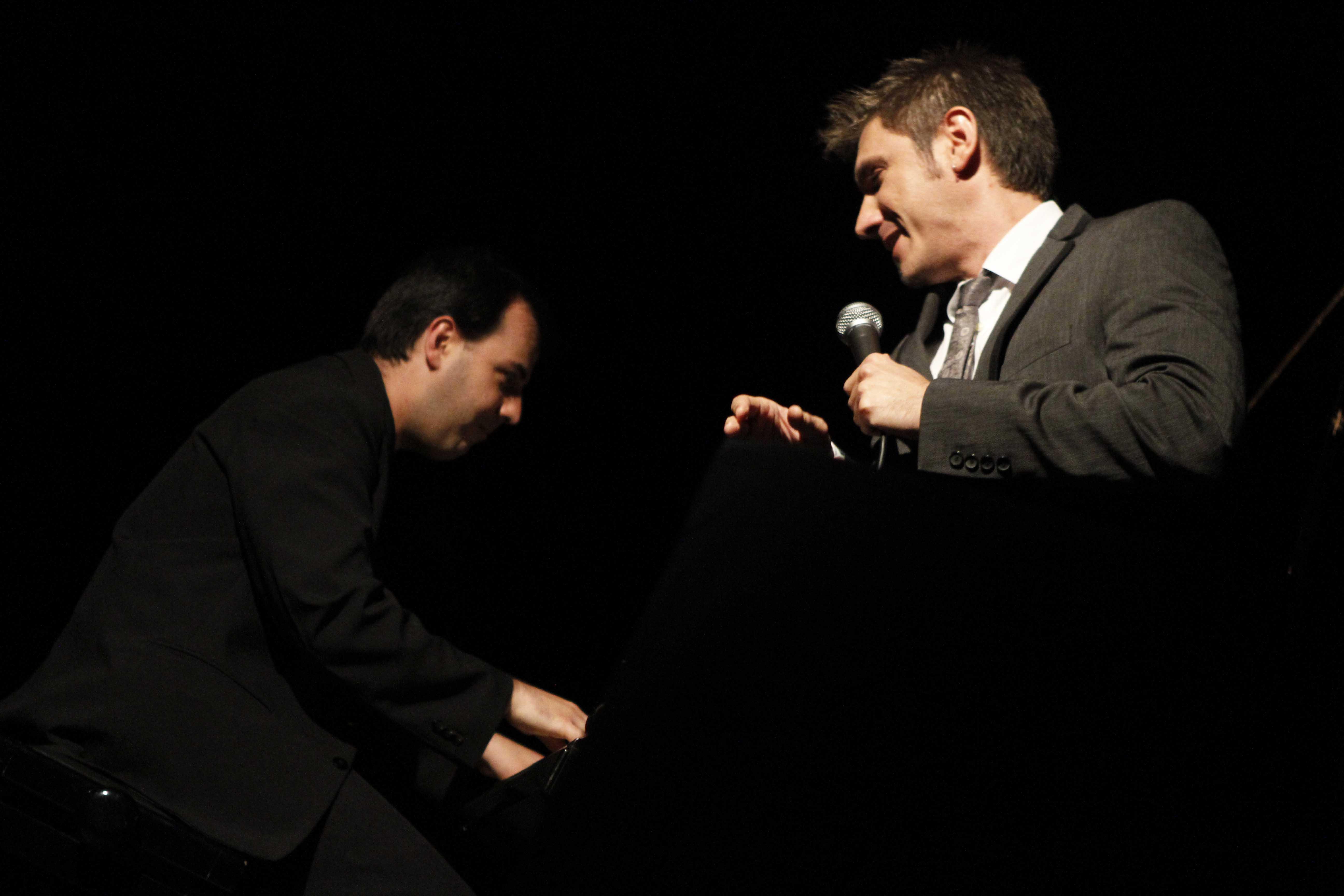 Ian Calamaro e Adriano Contó