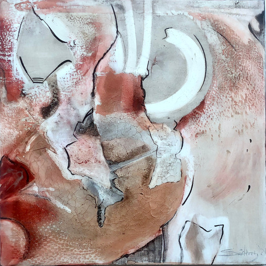 'New Age', 120 x 120 cm