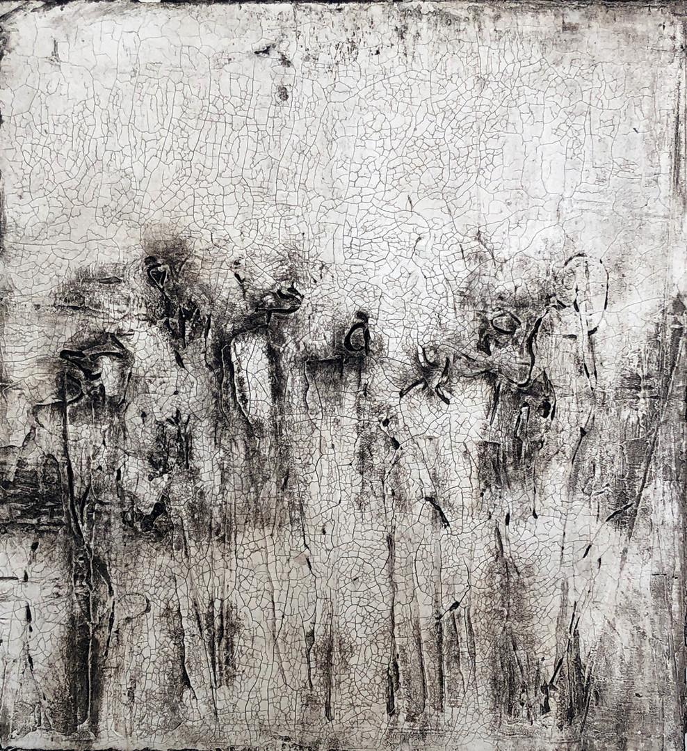 Beyond Human Beings, 30x30 cm