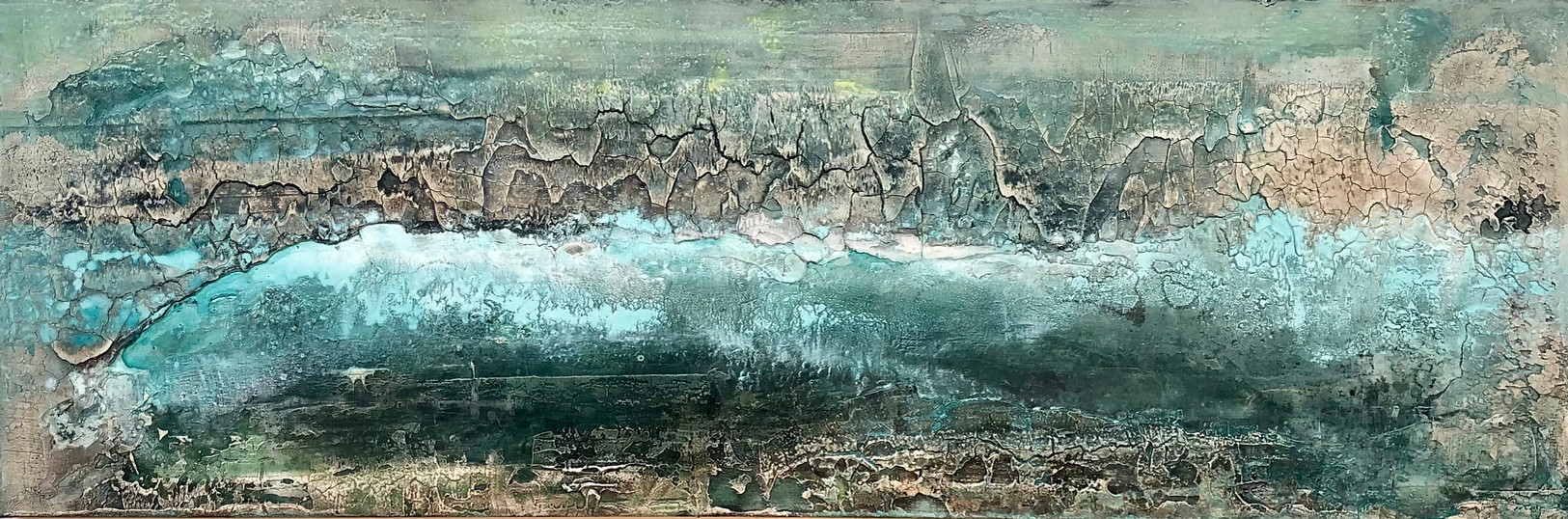 Coastline IV, 180 x 60 cm