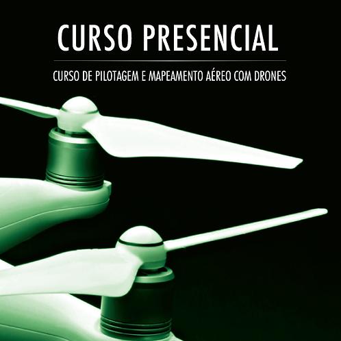 Pilotagem e Mapeamento Aéreo com Drones (Presencial)