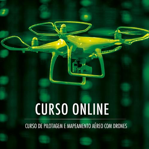 Pilotagem e Mapeamento Aéreo com Drones (Online)