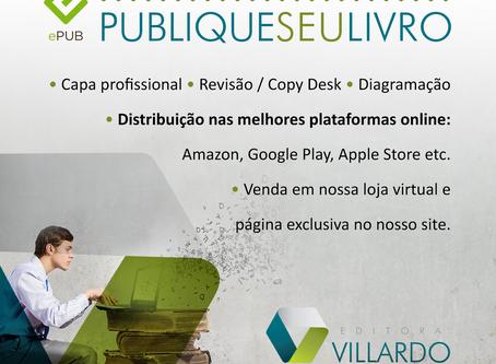 Publique o seu Ebook com a Editora Villardo