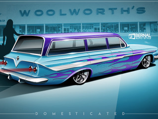 Domesticated Chevy Wagon