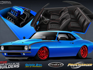 Quintin Brothers SEMA Show Battle of the Builders Camaro