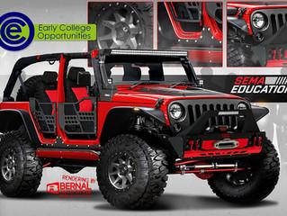 SEMA & Santa Fe ECO Jeep Build