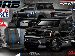 DRB Ford F-150 Revisions for a new show season and new sponsors