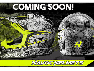New BAS Original Series Motorcycle Helmets available through Havoc Helmets.