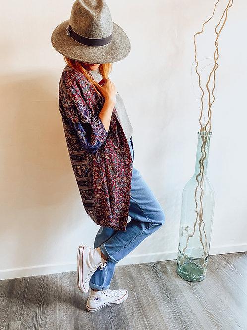 "Kimono bleu ""Lison"""