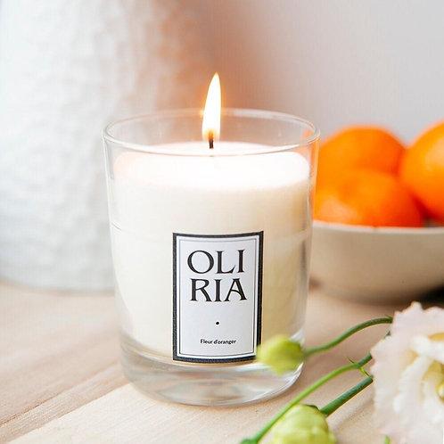 "Bougie Oliria ""Fleur d'oranger"""