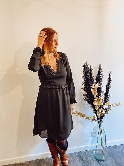"Robe noir ""Zoé"""
