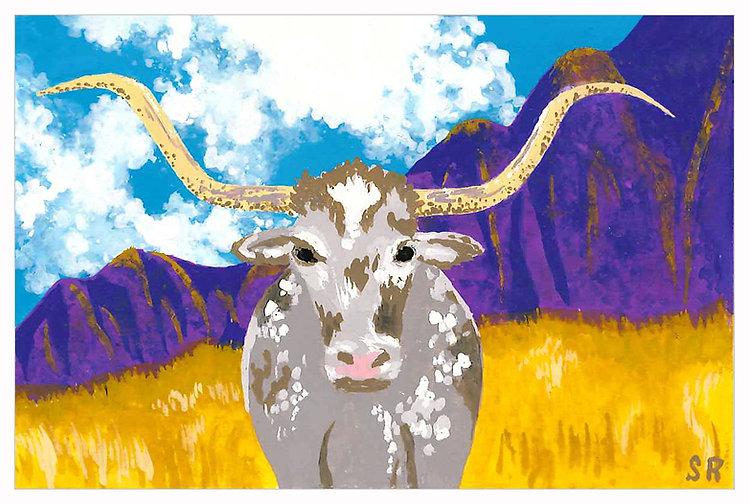 Longhorn Bull in Southwest