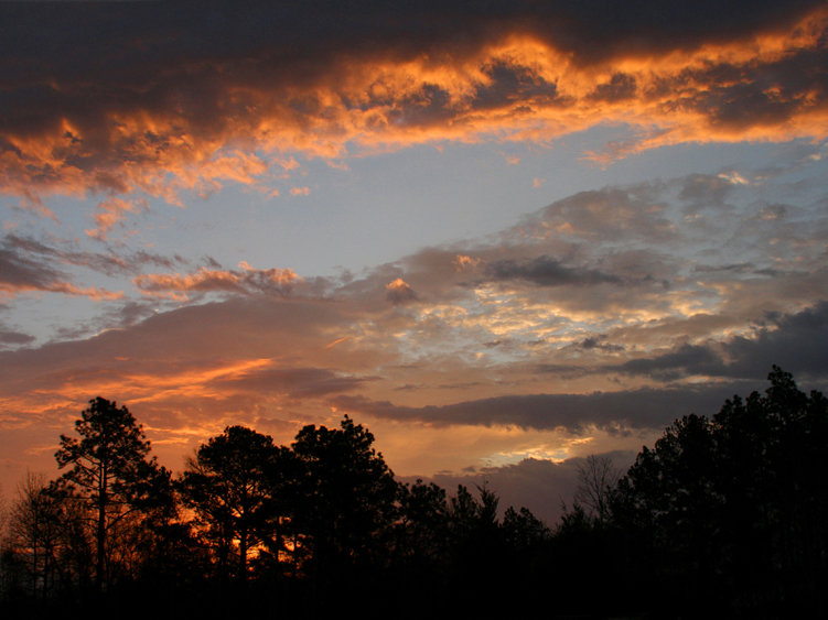 Sunrise in Central Georgia - March 2012