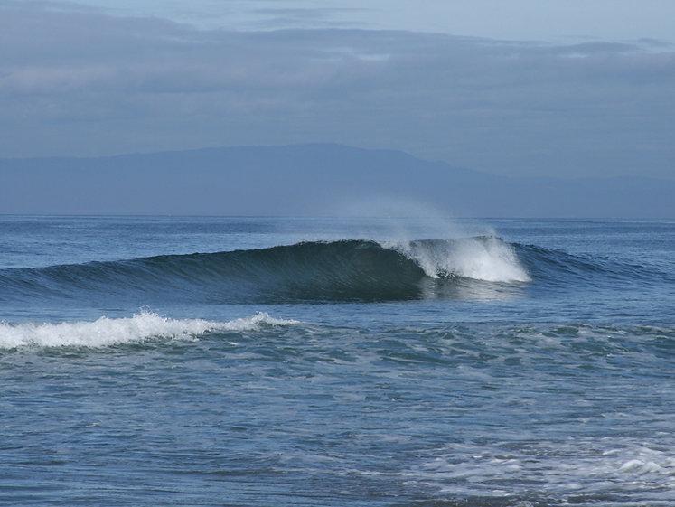 Surf at Moss Landing State Beach