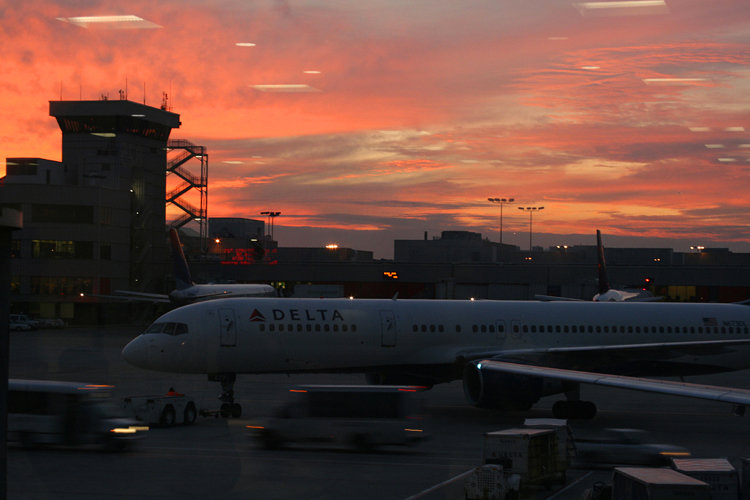Sunset at Hartsfield