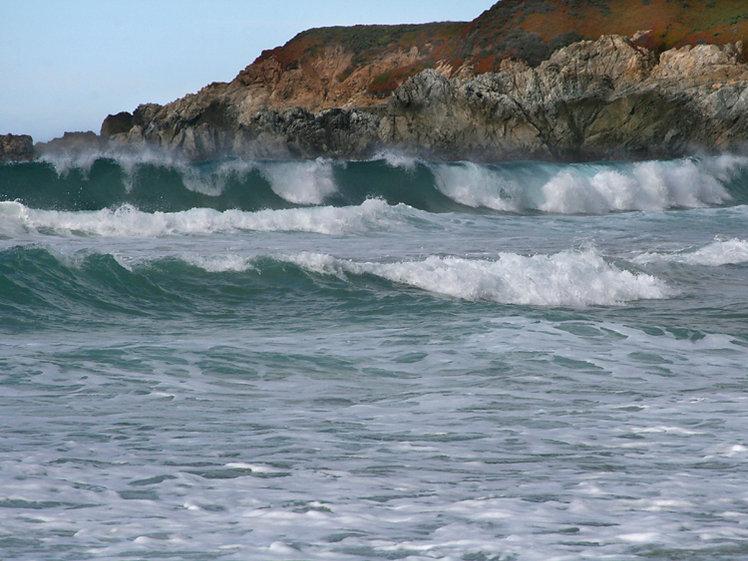 Surf at Garrapata State Beach