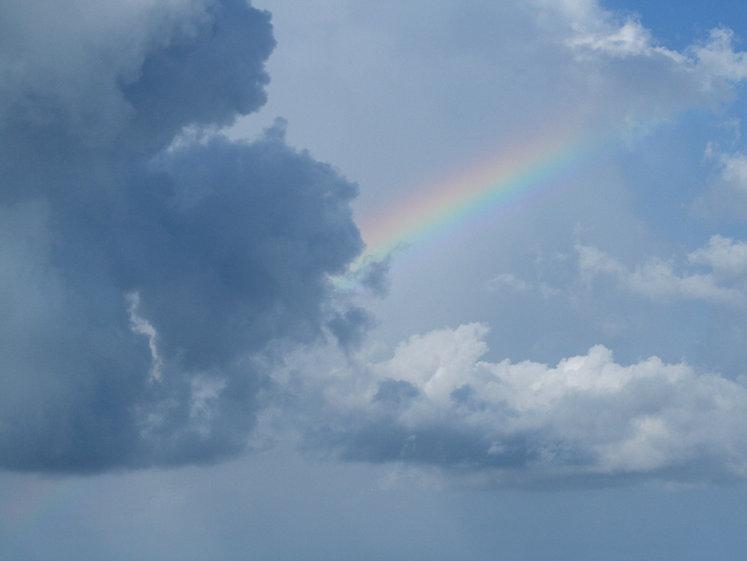 Rainbow in Florida Sky