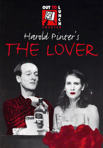 Ian Dickinson and Megan Gay in The Lover